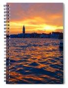 Tramonto Veneziano Spiral Notebook
