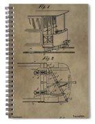 Tramway Fender Patent Spiral Notebook