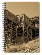 Tramway Headhouse Spiral Notebook