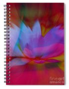 Trancendent Lotus Spiral Notebook