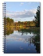 Tranquil Autumn Landscape Spiral Notebook