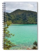 Tranquil Bay In Abel Tasman Np In New Zealand Spiral Notebook