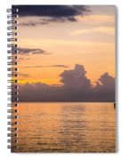 Tranquil Cruise Spiral Notebook