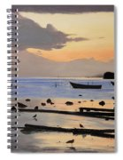 Tranquil Dawn Spiral Notebook