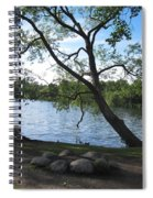 Tranquil Lake Spiral Notebook