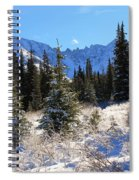 Tranquil Mountain Scene Spiral Notebook