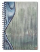 Tranquil Rain Spiral Notebook