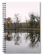 Tranquil Reflections Spiral Notebook