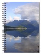 Tranquility Alouette Lake - Golden Ears Prov. Park, British Columbia Spiral Notebook