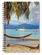 Tranquility Base Spiral Notebook