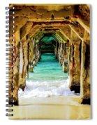 Tranquility Below Spiral Notebook