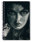 Portait Of Beatcee May Spiral Notebook