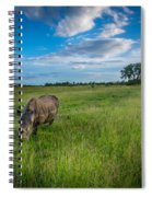 Tranquility On The Plains Spiral Notebook
