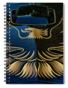 Trans Am Eagle Spiral Notebook