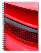 Trans Am Rear Lights Spiral Notebook