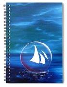 Transcendental Transportation Spiral Notebook