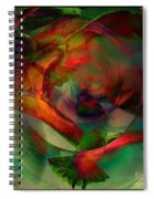 Transdimensional Seagulls  Spiral Notebook