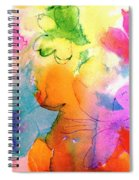 Transformed Into His Image Spiral Notebook