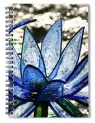 Translucent Blues Spiral Notebook