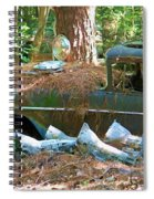 Transmission Row Spiral Notebook