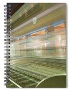 Transparent Trains Spiral Notebook