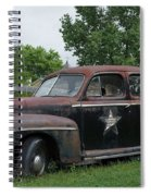 Transportation - Classic - Highway Patrol Spiral Notebook