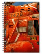 Transportation - Helicopter - Coast Guard Helicopter Spiral Notebook