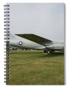 Transportation - Us Air Force - Airplane  Spiral Notebook