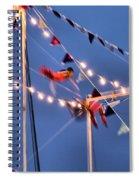 Trapeze Blur Spiral Notebook