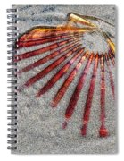 Trapped By The Tide Spiral Notebook