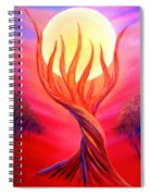 Trapped Moon Spiral Notebook