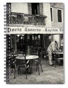 Trattoria In Venice  Spiral Notebook