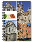 Travel To Venice  Spiral Notebook