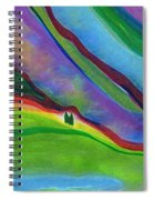 Travelers Foothills By Jrr Spiral Notebook