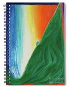 Travelers Rainbow Waterfall By Jrr Spiral Notebook