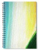 Travelers Rainbow Waterfall Detail Spiral Notebook
