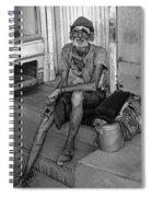 Travelin' Man Monochrome Spiral Notebook