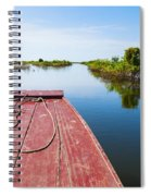 Traveling Through Tonle Sap Lake Spiral Notebook