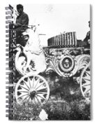 Travelling Circus Calliope Spiral Notebook