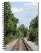 Traxs To Anywhere Spiral Notebook