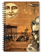Treasure Steampunk Spiral Notebook