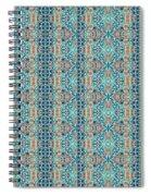 Treasure - Inverted Tile Arrangement Spiral Notebook