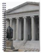 Treasury Department Washington Dc Spiral Notebook
