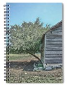 Tree And Building Spiral Notebook