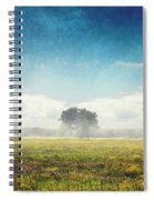Tree And Meadow Spiral Notebook