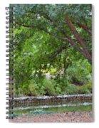 Tree At Norfolk Botanical Garden 4 Spiral Notebook