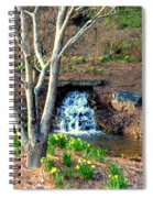 Tree By The Brook Spiral Notebook