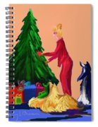 Tree Decorating Spiral Notebook