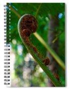 Tree Fern Spiral Notebook
