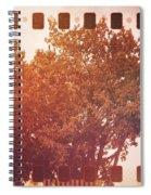 Tree Grunge Vintage Analog Film Spiral Notebook
